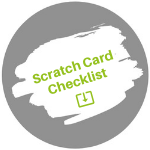 scratch card checklist