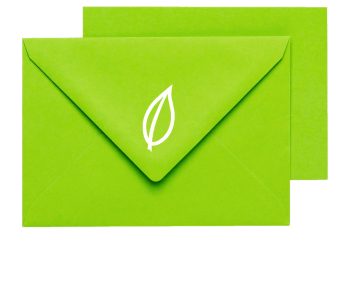 image of print pack in a green envelope