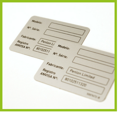 Metal Labels & Name Plates