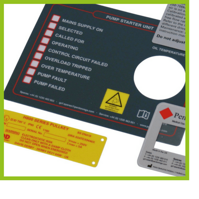 Rigid PVC Labels