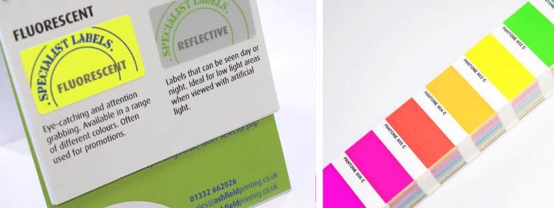 fluorescent ink for labels