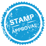approval stamp - label supplier