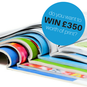 Print competition - WIN £350 worth of business print